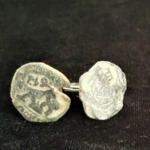 Cuff Links Spanish Cobb 8 Maravedis . 1600s, copper 23mm One Inch 21.95 V2