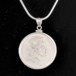 FRANCE MARIE CURIE ONE HUNDRED FRANCS- .999% SILVER 1934 DIAMOND CUT BEZEL ONE AND ONE QUARTER IN 83 OB