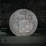 GERMANY BERLIN OLYMPICS 1936 GARMISCHPARTENKIRCHEN TOWN IN BAVARIA 1.46in 37.00X2.30mm REV 8.50-14.50