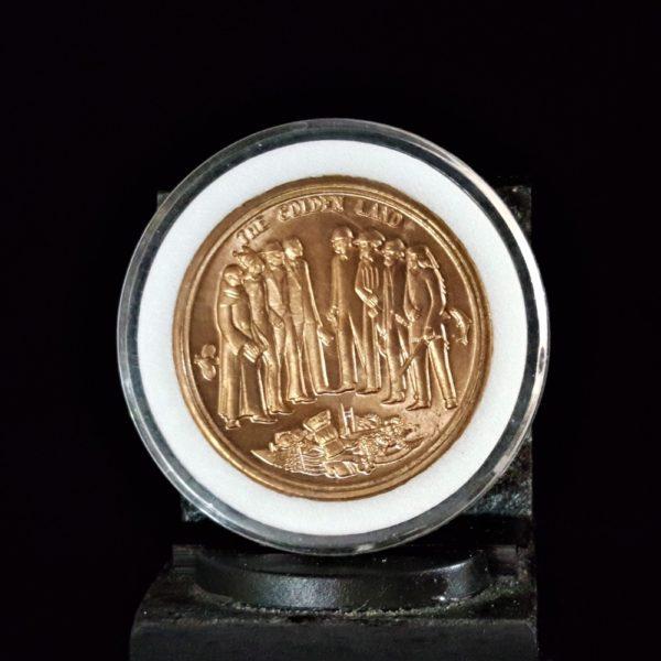 CALIFORNIA BICENTENNIAL 1769-1969 1.526IN 38.75X3.00MM REV V1