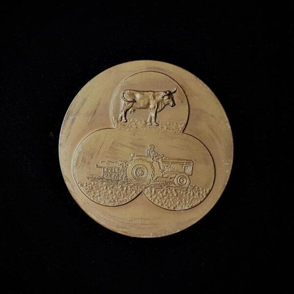 Campinos On The Horses Bronze Medak 1985 7oz. 3.20in 80.00×3.00mm rev 28