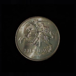 LITHUANIA Twenty Cents 1982 .17oz .75 in 20.56×2.12mm 2$3 ob