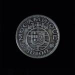 MOZAMBIQUE of Portugal 1954 Ten Escudos .19oz silver .875in 23.85×1.25 mm 10$15 rev