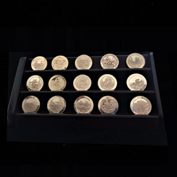 American History Fifteen Medals