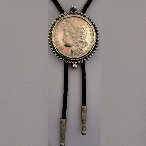 Morgan Dollar Bolo 1881 90% Silver 10% Copper 2.22oz .7734 Troy oz 38.00mmx2.50mm 62.89 ABB