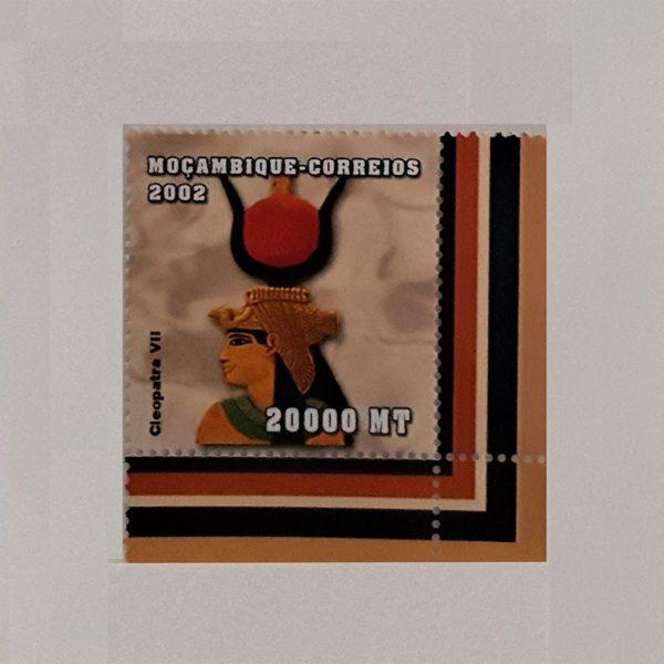 Cleopatra VII Egyptian Queen 2002 20000 MT Mozambique MNH Scott 1607 $.50