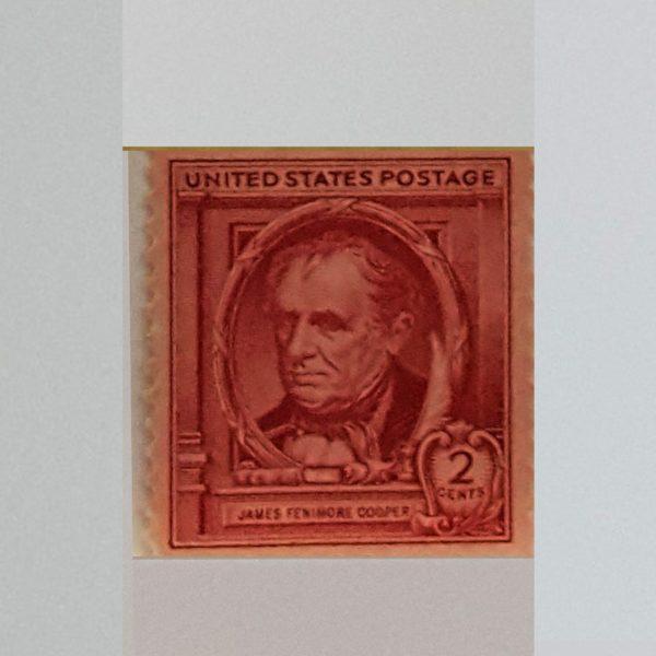 James Fenimore Cooper 1940 2C Famous American Authors Scott #890 $.99.