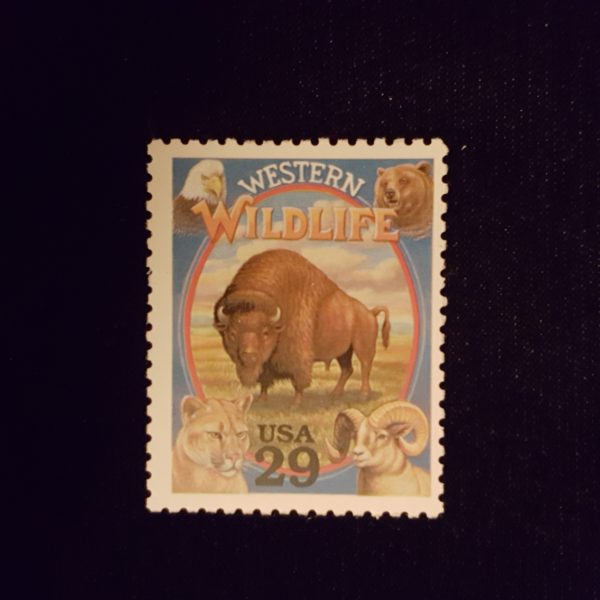 WESTERN WILDLIFE c29 1994 Legends of The West NH Mint #2869 $.50